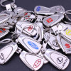 Audi Carry a Hollowed out Metal Car Keychain
