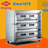 Commercial Kitchen Equipment 3 Deck 9 Tray Electric Oven