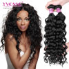 Yvonne Virgin Peruvian Hair Weft Natural Color Italian Curl