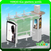 Outdoor Street Furniture Factory Price Bus Stop Shelter