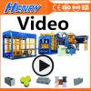 Qt10-15 Hydraulic Pressure Cement Brick Making Machine Curbstone Block Machine
