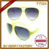 F7024 Plastic Classic Frames Pilot Style Fashion Sunglass Passed CE, FDA