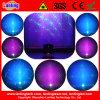PAR 18W RGB Indoor LED+150MW Rg 12gobos Twinkling Laser Aluminumlight