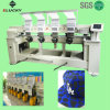 4 Heads Multi-Head Computerized Cap Embroidery Machine for Industry Tubular, T-Shirt and Finished Garments (EG1204C)