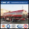 Cimc Huajun 2axle Aluminium Alloy Fuel/Oil/LPG Tanker Exported