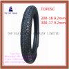 Size 300-18, 300-17 ISO Nylon 6pr Motorcycle Tyre