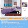 Purple Color Cotton Bedding Set