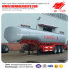 304 Stainless Steel Fuel Tanker Semi Trailer for Flammable Liquid Loading