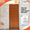Standard European Style Aluminum Wood Window with Ce Certification, Solid Wood One Sash Interior Wooden Hinged Door