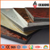 PVDF Stone Finish Aluminum Composite Panel for Exterior Wall Cladding