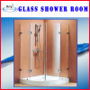 Best Tempered Glass Shower Room with Acrylic Plate