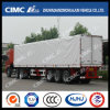 Cimc Huajun Hot Sale Van/Box Semi Trailer with Side Curtaiin