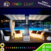 Color-Changing Bar Seat Glowing LED 2 Seat Sofa