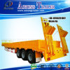 3 Axles 50 Ton Low Flatbed Semi Truck Trailer (LAT9322TDP)