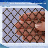 Flat-Wire Decorative Mesh Antique Brass Plated Mesh