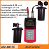 Am4836c Professional 3 Wind Cup Anemometer for Sale