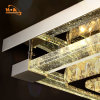 220V Remote Control LED Crystal Chandelier Light with Dimmanble