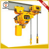 Low Headroom Electric Chain Hoist 1t 380V Fast Speed Electric Crane