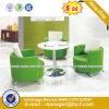 Modern Steel Metal Base Fabric Upholstery Leisure Chair (HX-sn8006)