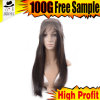 100% Silk Human Hair Non Lace Wigs for Women