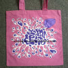 Pink Cotton Bags with Oeko-Tex for Gift