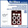 7PCS 3/4′′ Aluminum Radiator Fitting Accessories