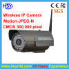 Waterproof Wireless CCTV IP Camera Built-in IR-Cut, Auto Filter, No Color Cast