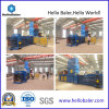 Horizontal Automatic Pressing Baling High Capacity Automatic Baling Machine for Paper Recycling HFA20-25 From Hellobaler