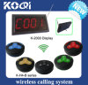CE Approved 433.92MHz Restaurant Table Call System