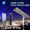 Bluesmart 100W/120W All in One Solar Panel LED Street Lighting Garden Lamp