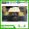 Coffee Shop Furniture Wooden Table and Chairs (DT-20)