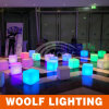 LED Glowing Plastic Wall Stackable Storage Cubes