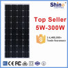 Monocrystalline Solar Panel for Solar Generator/ Home System with 10 Years Warranty