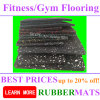 Lose Weight Fitness Court Rubber Durable Colorful Safety Flooring Tiles