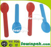 Solid Blue Plastic Crafting Spoons