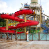Fiberglass Water Ground Slide