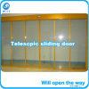 Telescopic Sliding Door Operator Double Drives