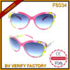 F6034 Fake Designer Plastic Frames Ladies Style Fashion Sunlgasses