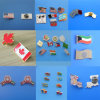 Customize Flag Lapel Pins, Metal Emblem