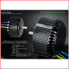 48V/72V 96V 5kw Electric Motorcycle Motor Kit with Air Cooliing