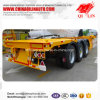 Frame Structure Platform Truck Trailer for 40FT Container Loading