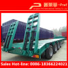 Heavy Duty 4 Axles Lowbed Trailer with Side Extension