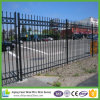 Black Powder Coated Decorative Garden Fence