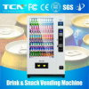 Large Capacity Cold Drinks&Snacks Combo Vending Machine with 8′′lcd Screen