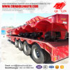 China Manufacture 4 Axles Low Bed Semi Trailer for Algeria