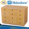 Wooden12 Drawers School Locker for Moonshow Office Furniture