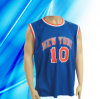 100% Polyester Man's Sleeveless Basketball Wear