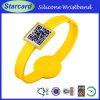 Silicone Custom Slap Qr Code Bracelet