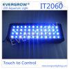 Evergrow Intelligent Programmable Sunset/Sunrise LED Aquarium Reef Light It2060 51X3w with 3cps Moonlight Design