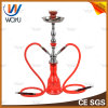 Red Medium Pipes Silver Lake Water Pipe Smoke Hookah